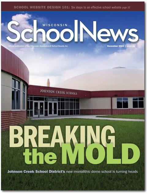December School News cover