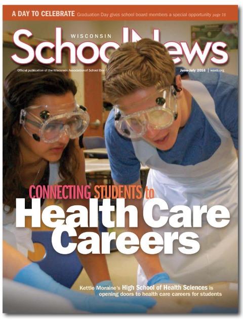 Wisconsin School News cover