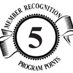 5 Member Recognition Points Logo
