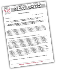 New Laws Bulletins
