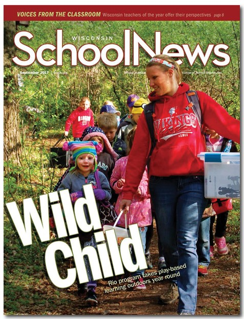 Wisconsin School News cover