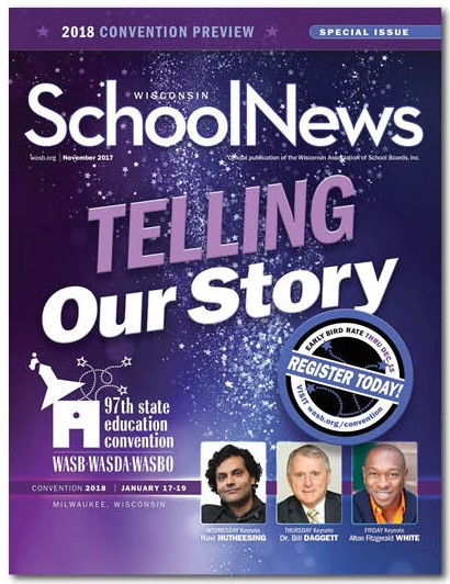 November Wisconsin School News