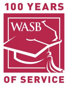 Image WASB Logo celebrating 100 years