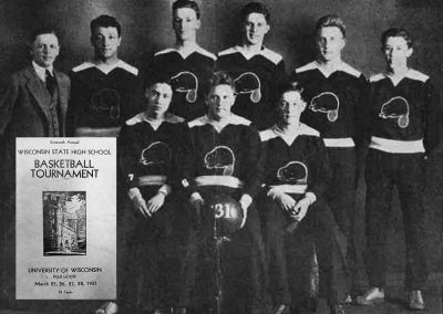 Image Cumberland Basketball Team in 1931