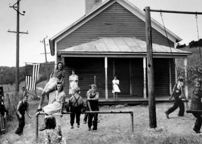 Image Children Playing on Playground 1933