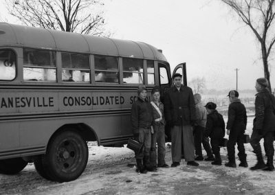 Image Students Boarding Janesville Bus
