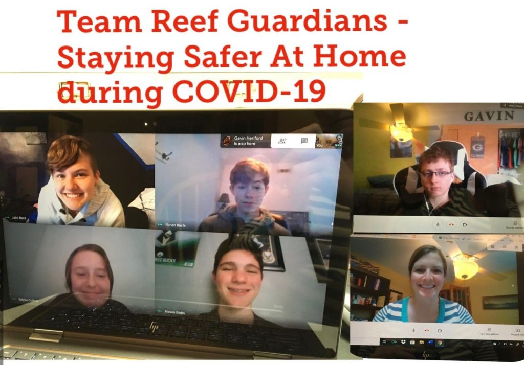 Wheatland Center School's Team Reef Guardians