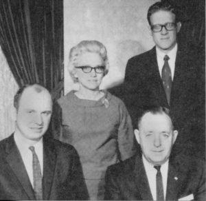 Image Group Photo Ken, Margaret, George Senn