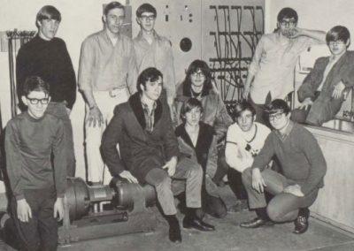 Image Wausau East HS 1971 Electronics Club