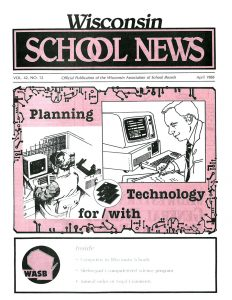 Image April 1988 School News Cover