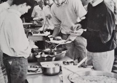 Image Clinton Cafeteria 1988