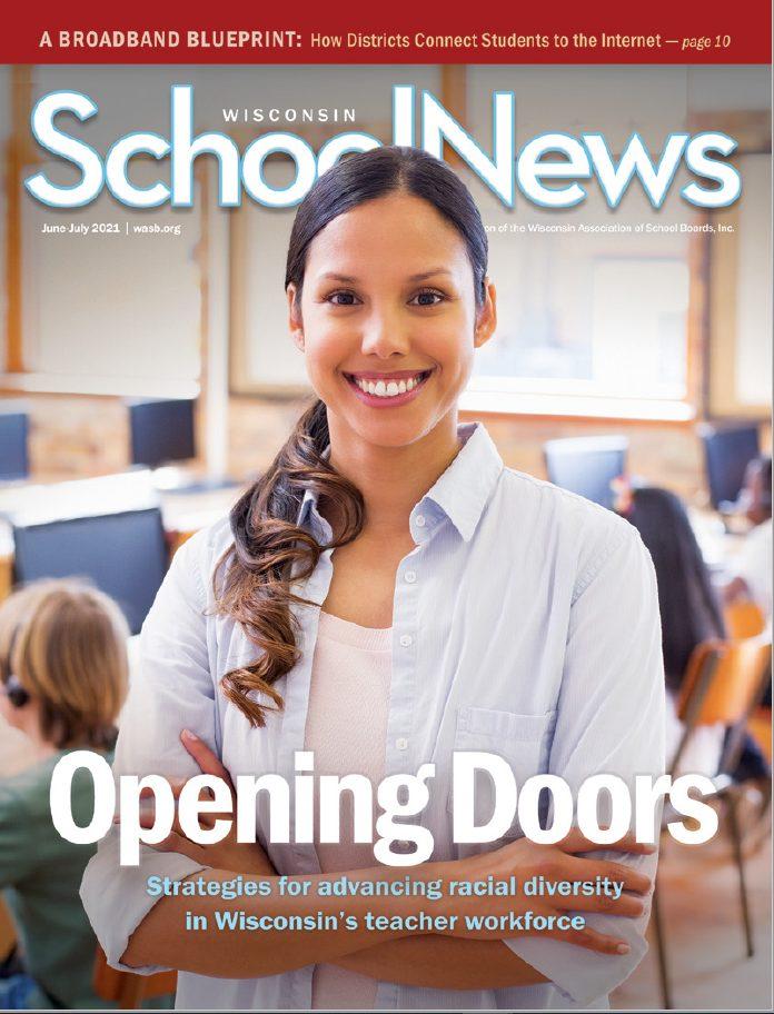 June-July 2021 Wisconsin School News Cover Image